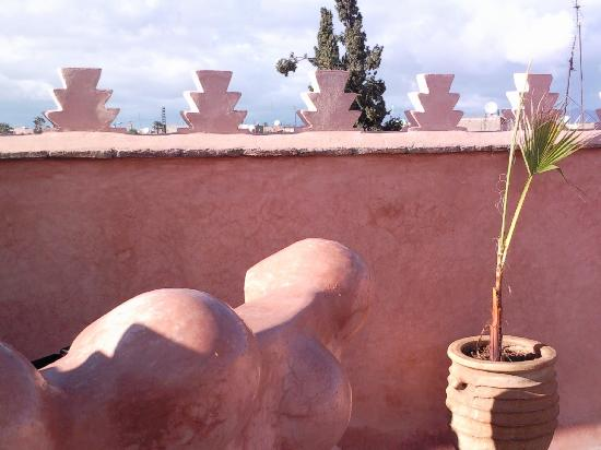 Zamzam Riad: gorgeous roof terrace