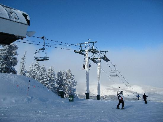 Deer Valley Resort: Top of Sterling lift, Silver Lake area