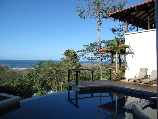 Casa MarBella: View of pacific from the pool deck