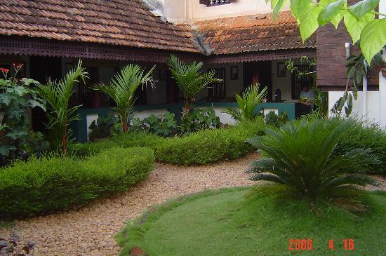 Vrindavanam Heritage Home Lovely Garden Small But Nice