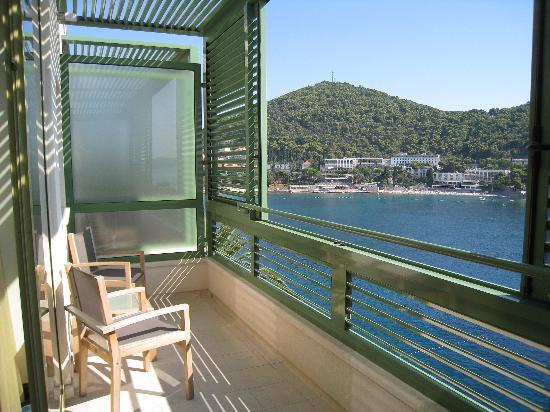 Hotel More: Balcon des chambres avec vue mer