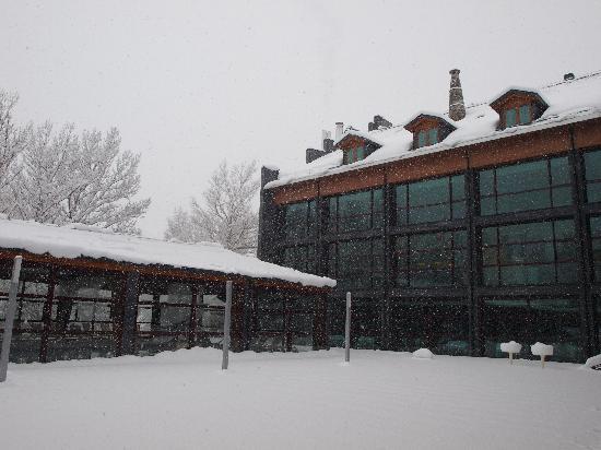 Benasque, Spain: Nevando