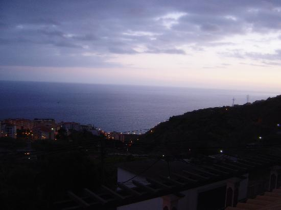 Vila Marta: A view at night