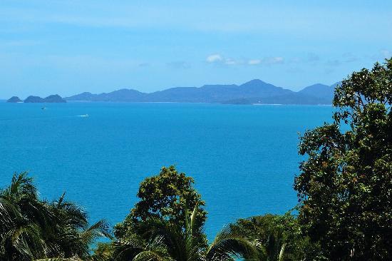 Four Seasons Resort Koh Samui Thailand: View towards Koh Phangan