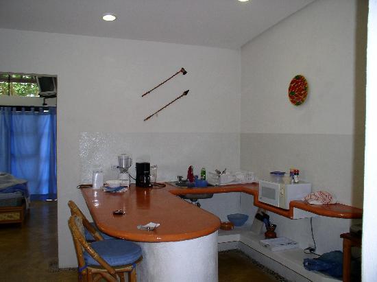 Cabanas Puerto Morelos: Kitchenette