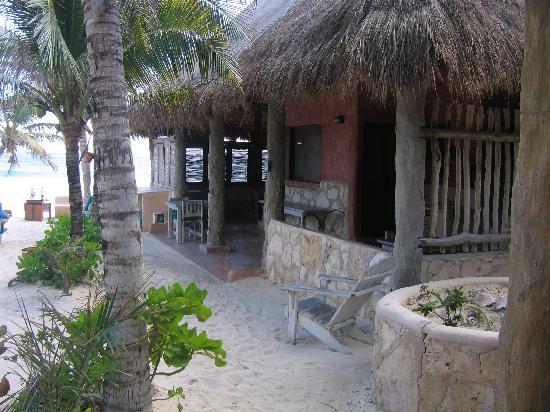 Hotel CalaLuna Tulum: Breakfast Area