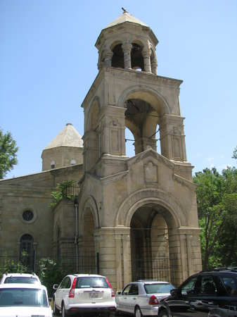 Bakoe, Azerbajdzjan: A church in Baku