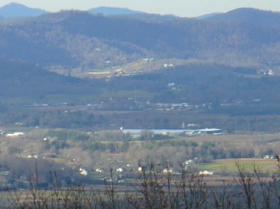 Laurel Park, Caroline du Nord : The Valley Below From Jump Off Rock