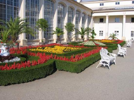 Gardens and Castle at Kromeríz: Květná zahrada (Flower Garden)
