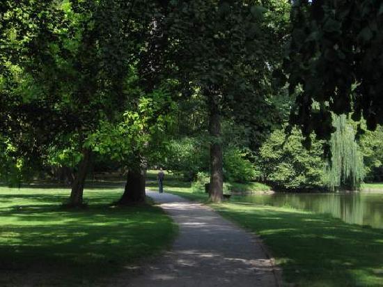 Gardens and Castle at Kromeríz: Podzámecká zahrada (Chateau Garden)