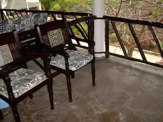 Jacaranda Beach Resort: il terrazzo