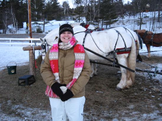 Gentle Giants Sleigh and Carriage Rides: Smiles abound at Gentle Giants