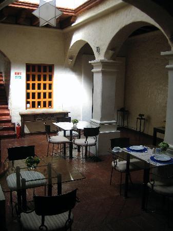 Casa Catrina: Este es el lobby-restaurant.