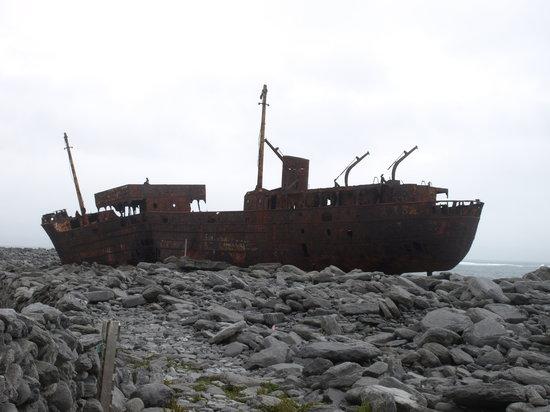 Инишер, Ирландия: The Plassey Wreck