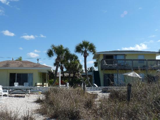 Suntan Terrace Resort From The Gulf Beach Side