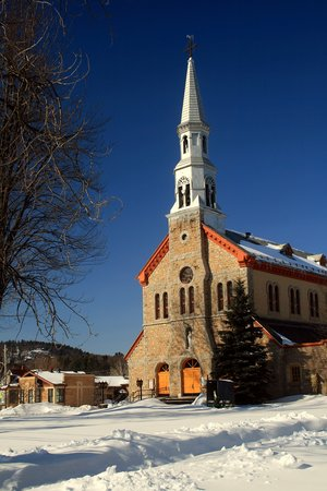 Montebello, كندا: Eglise Notre-Dame-de-Bonsecours #1