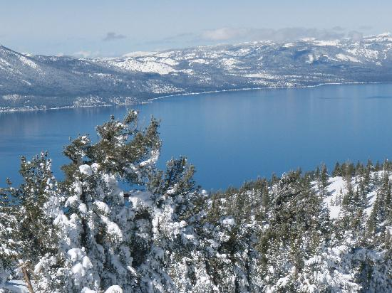 Grand Residences by Marriott, Tahoe - 1 to 3 bedrooms & Pent.: View of lake from top of mountain
