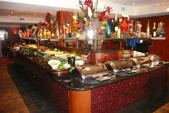 Braza Lena Brazilian Steakhouse : Salad Bar Side 1