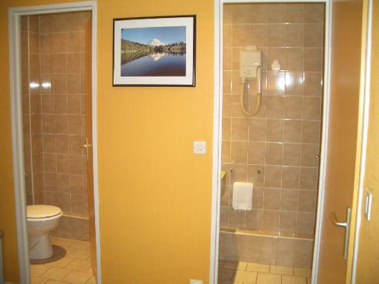 Hotel Escurial : Bathroom and WC