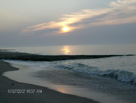 Isla de Edisto, Carolina del Sur: each day a great view of the sunrise