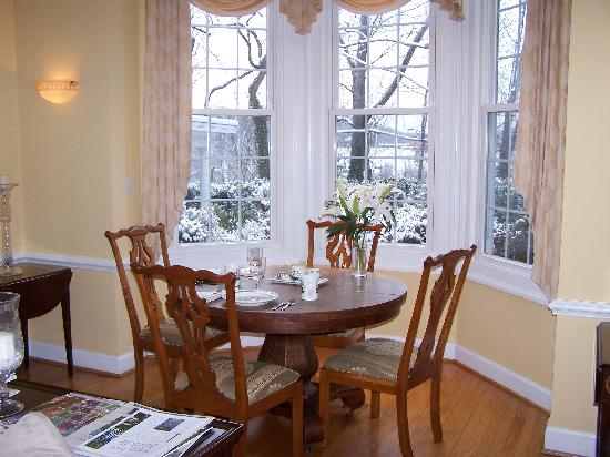 Nesselrod Bed and Breakfast: The Breakfast Nook