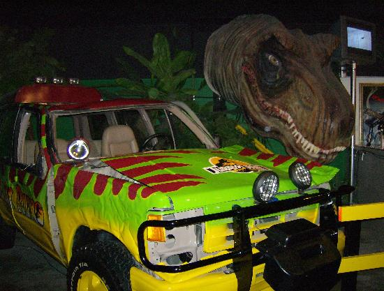 Jurassic Park - Picture of Hollywood Star Cars Museum ...