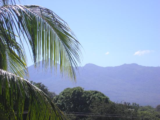 La Islita Boutique Hotel: View of Mombacho volcano from rooftop terrace