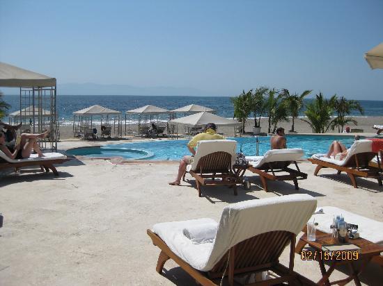 Casa Velas: Beach Club view