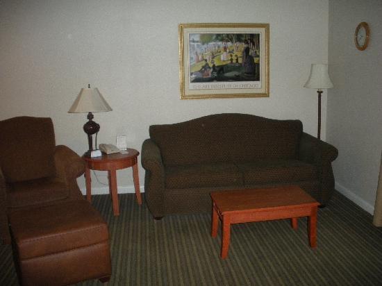 HYATT house Bridgewater: Living Area