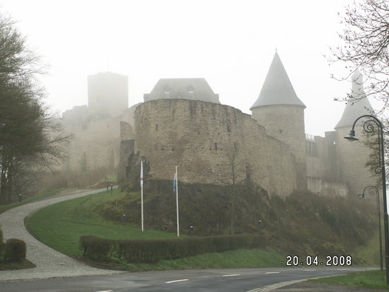 Bourscheid, Luxembourg: The castle