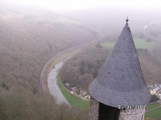 Bourscheid Castle : The view from the tower