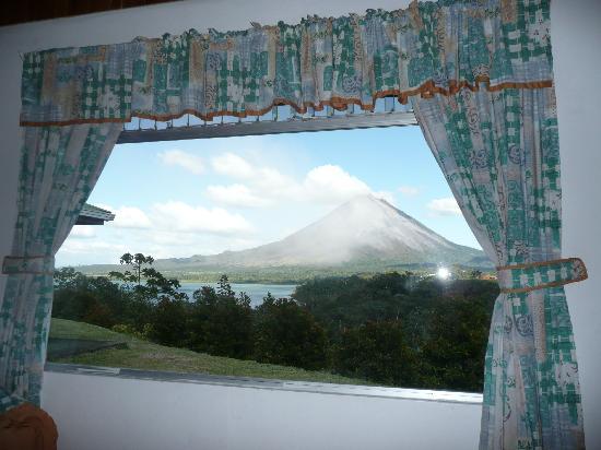 Cabinas El Castillo: chambre avec vue