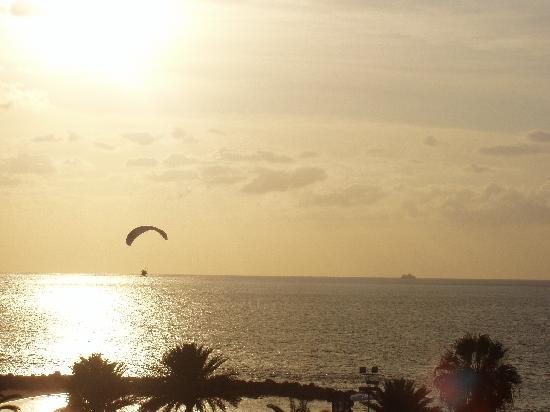 Palm Beach Tenerife: View from balcony