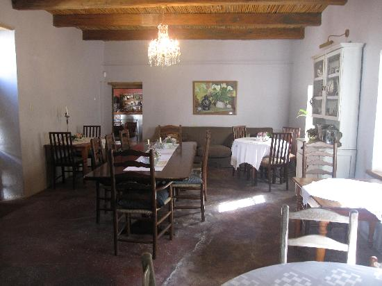 Moolmanshof Bed & Breakfast: dining room