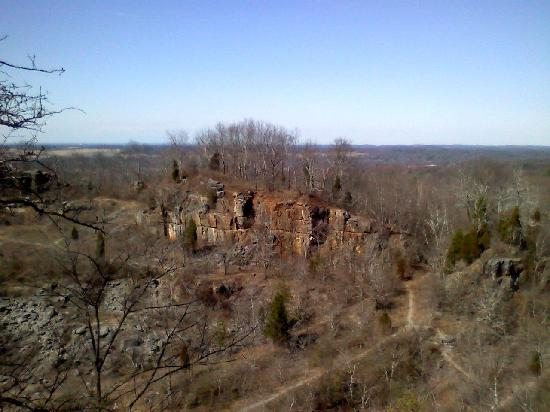 Ruffner Mountain Nature Preserve : Quarry Cambrian Overlook