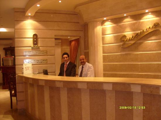 Susanna Hotel: reception