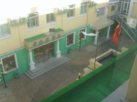 Zhong An Hotel : View from window to the courtyard