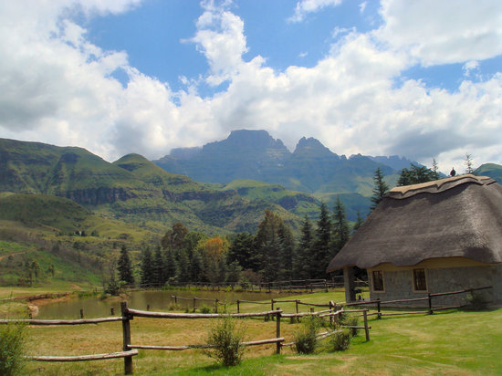 KwaZulu-Natal, South Africa: view from the chalet