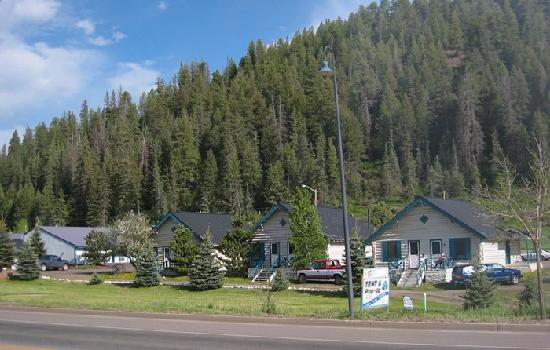 San Juan Motel: The original cabins.