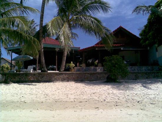 Secret Garden Beach Resort: from the beach