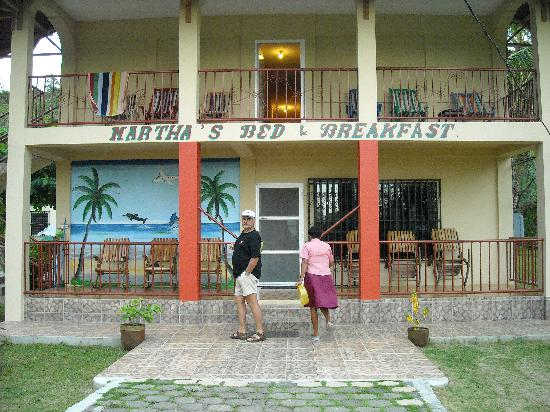 Martha's Bed and Breakfast: the B & B