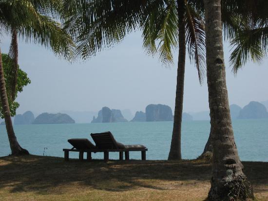 Koyao Island Resort: La vue, j'adore!