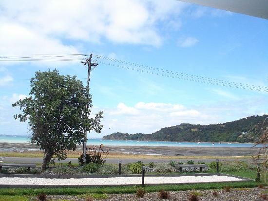 Breakfast on the Beach Lodge: view from our window