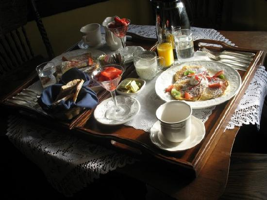 Deer Park Inn: Delicious Deer Park breakfast