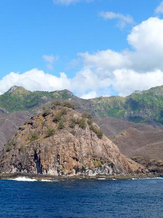 Îles Marquises, Polynésie française : wunderschöne Insel
