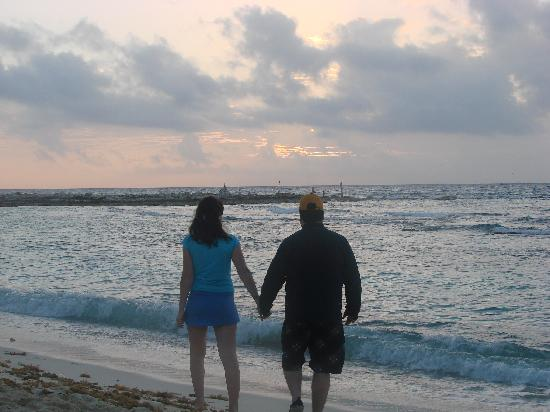 Me And My Love On The Beach Picture Of Catalonia Yucatan Beach Puerto Aventuras Tripadvisor