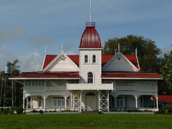 Arbeitssitz des Königs von Tonga