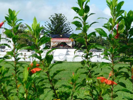 Tonga : Grab des verstorbenen Königs