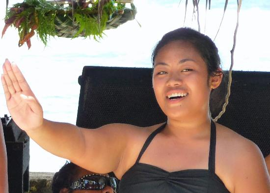Hulamädchen aus Tonga