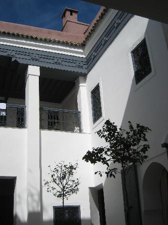 Riad Dar-K: The courtyard